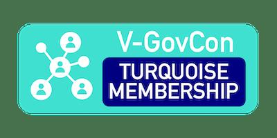 Winter 2019 V-GovCon Turquoise Membership