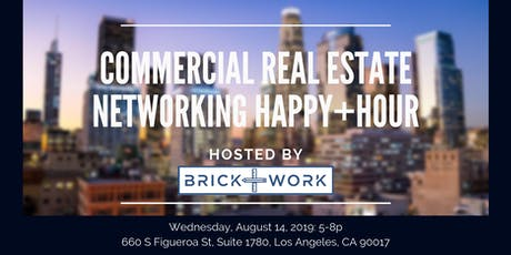 Commercial Real Estate Networking Happy+Hour -  Brick+Work tickets