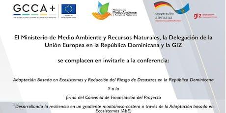 """""""Adaptación Basada en Ecosistemas y Reducción del Riesgo de Desastres"""" tickets"""
