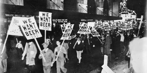 Tipsy History: Prohibition Living History Event