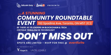 Community Roundtable Event tickets