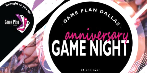 1st Anniversary Adult Game Night