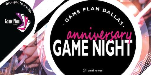 1st Anniversary Adult Game Night