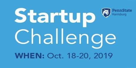 Startup Challenge at Penn State Harrisburg ~ Oct 18-20, 2019 tickets