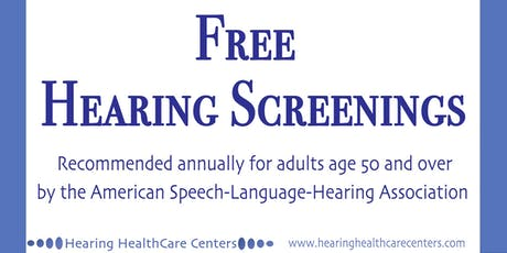 Hearing Screenings - Free in Broomfield - Week 2 tickets