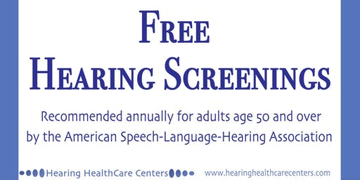 Hearing Screenings - Free in Englewood - Week 2