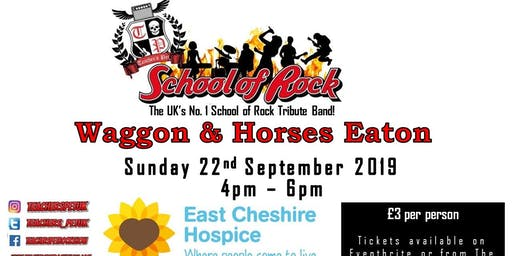 School of Rock Tribute Teachers Pet at The Waggon & Horses Eaton