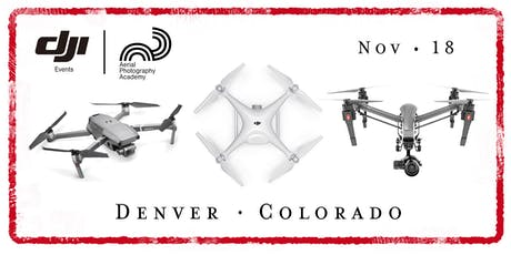 DJI Drone Photo Academy – Denver, CO. tickets