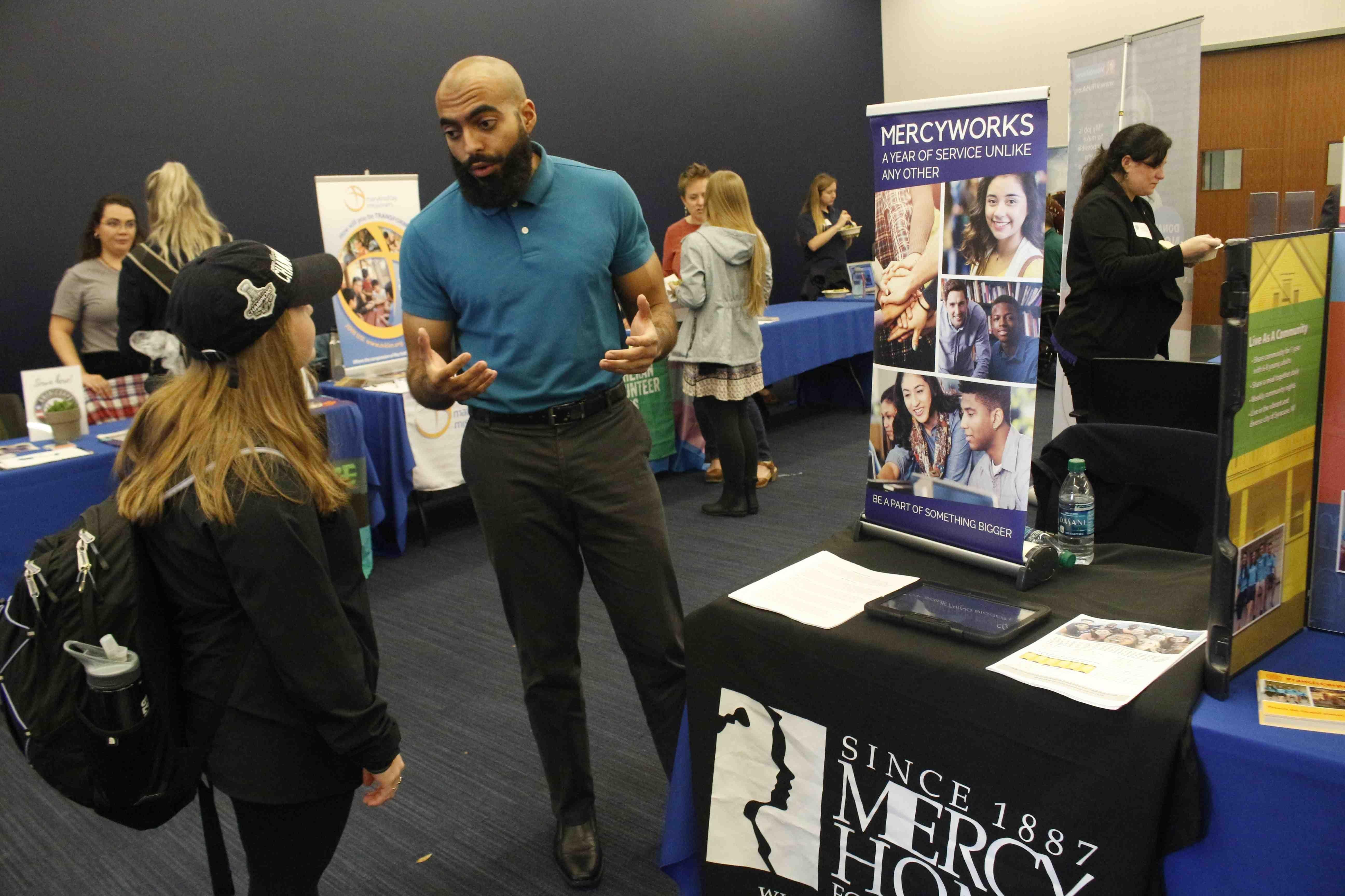 Service Options Fair 2019 at Georgetown University Recruiter Registration