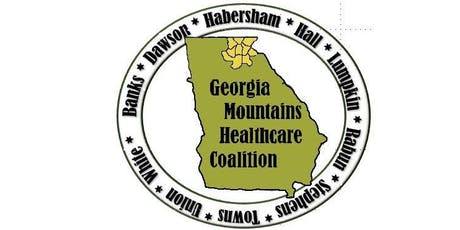 Georgia Mountains Healthcare Coalition (Region B) Quarterly Meeting August 21 2019 tickets