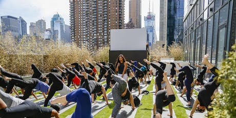 Rooftop Yoga Class + Wine/Rose tickets