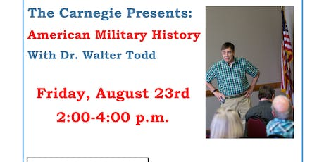 American Military History tickets