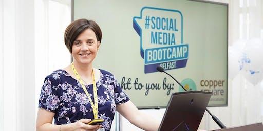 Facebook/Instagram training with Louise Brogan owner of SocialBeeNI
