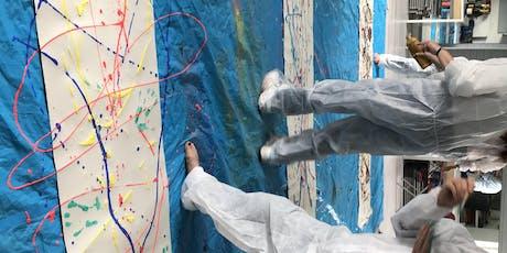 Adult Jackson Pollock workshop tickets