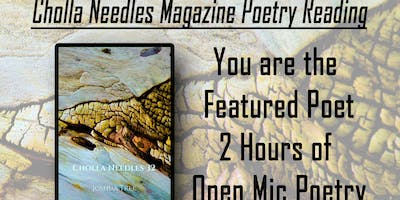 Space Cowboy Books Presents: Cholla Needles Mag Poetry Reading