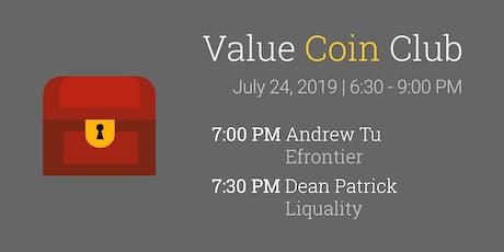 Value Coin Club Meet-up tickets