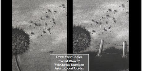 """Charcoal Drawing Event """"Windblown"""" in Verona tickets"""