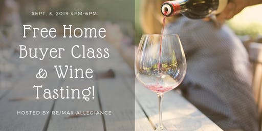 Virginia Beach Free Home Buyer Class & Wine Tasting Event!