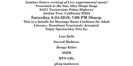 Experimental Sounds Tonight Presents: Fundraiser Concert for the Morongo Basin Coalition for Adult Literacy tickets
