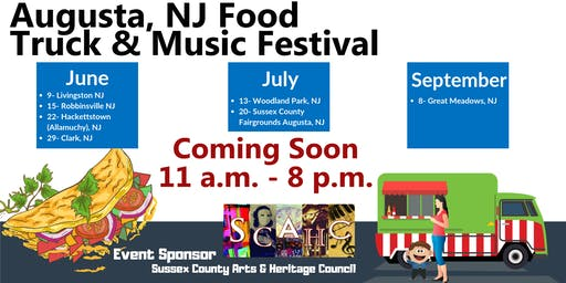 EVENT POSTPONED - Sussex County Food Truck and Music Festival