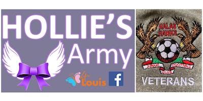 Halas Hawks Vets Presentation / Hollie's Army fund raiser