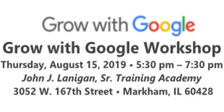 Grow with Google Workshop tickets