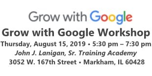 Grow with Google Workshop