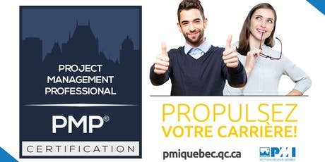 Préparation à la certification PMP® et CAPM® - Automne 2019 billets