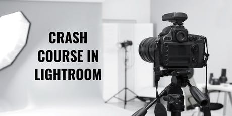 Crash Course in Lightroom tickets