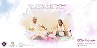 Concerto Meditativo com Instrumentos de Cristal de Quartzo - Aldeia no Pura Luz Yoga