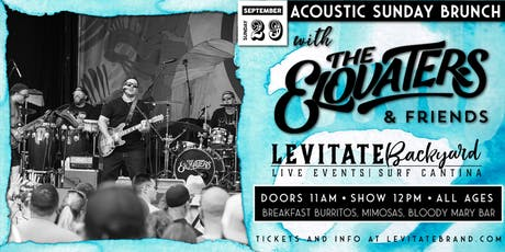 The Elovaters @ Levitate Backyard - 9.29 tickets