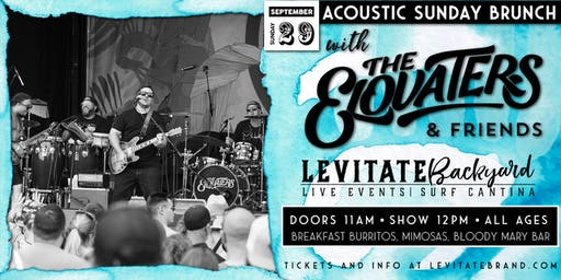 The Elovaters @ Levitate Backyard - 9.29