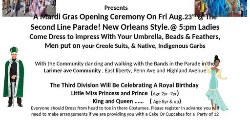 Mardi Gras Parade and Festival!