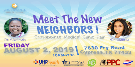 """Crosspointe Medical Clinic """"Meet Your New Neighbors"""" tickets"""