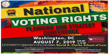 National Voting Rights Planning and Strategy Conference tickets