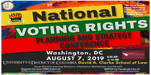 National Voting Rights Planning and Strategy Conference