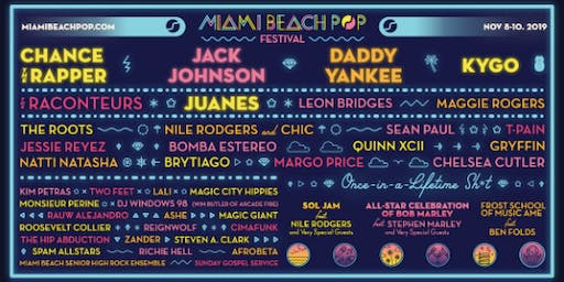Miami Beach Pop - Payment Plan - November 8-10, 2019
