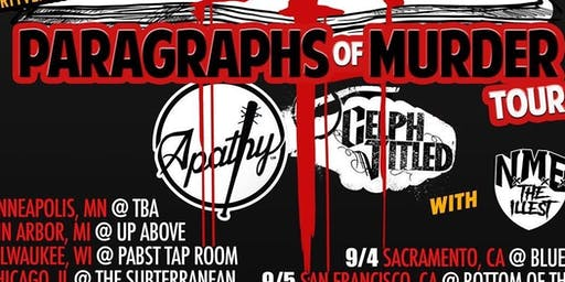 "Apathy & Celph Titled: ""Paragraphs Of Murder"" Tour"
