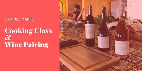 Cooking Class & Wine Pairing with Aldina Vineyards tickets