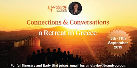 Retreat in Greece-Personal Development and Travel-ConnectionsConversations  tickets