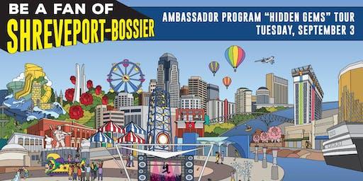 2019 Be a Fan of Shreveport-Bossier Ambassador Program - Hidden Gems Tour