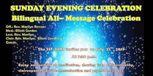 Celebration tout messages bilingue /Bilingual All– Message Celebration