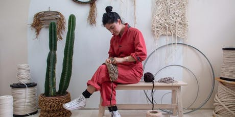 The Sill x Taryn Urushido presents: Crochet Wall Frog Workshop tickets