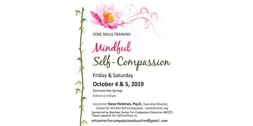 Core Skills Training: Mindful Self-Compassion