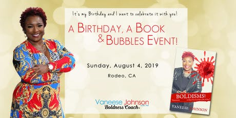 A Birthday, A Book and Bubbles Event! tickets