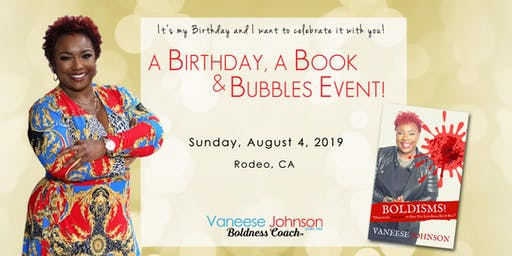 A Birthday, A Book and Bubbles Event!