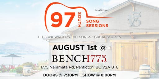 97 South Song Sessions at Bench 1775 Winery  (19+)