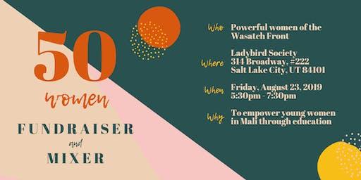 50 Women: Fundraiser and Mixer