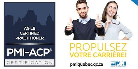 Formation (21hres) - Préparation à la certification Agile PMI-ACP® - Automne 2019 billets