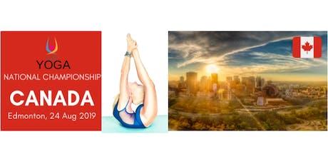 Canadian Yoga Championship - Edmonton - August 24, 2019 tickets